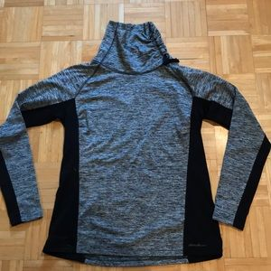 Scoop Neck Work Out Sweatshirt